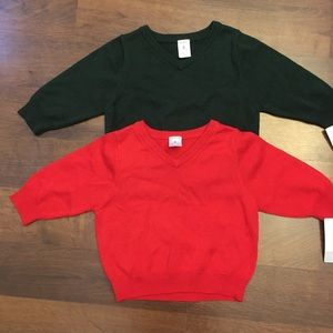 Set of 2 sweaters from Carters/ Size 6 mo.